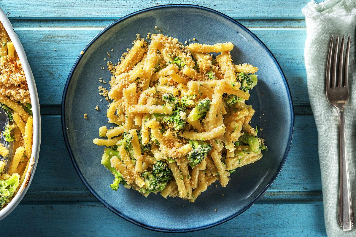 Schnelles Veggie-Mac'n'Cheese