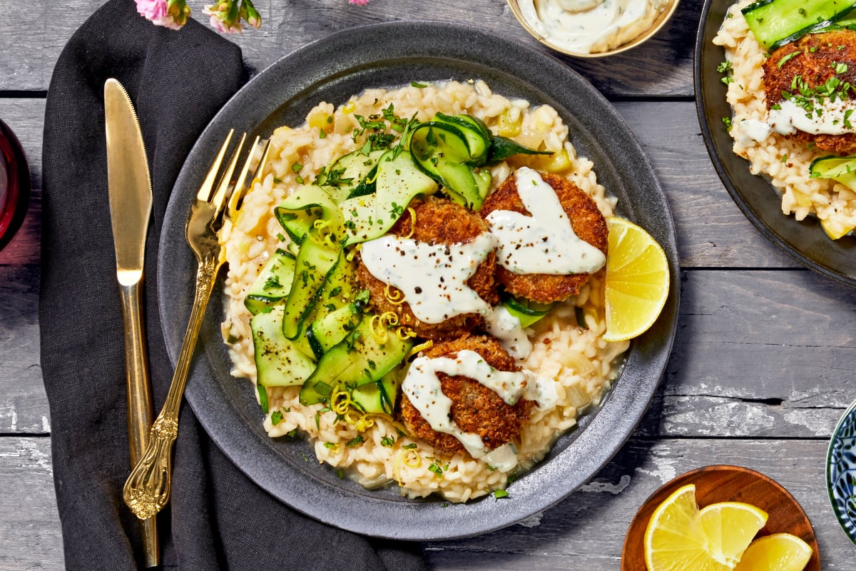 Crab Cakes with Tarragon Aioli