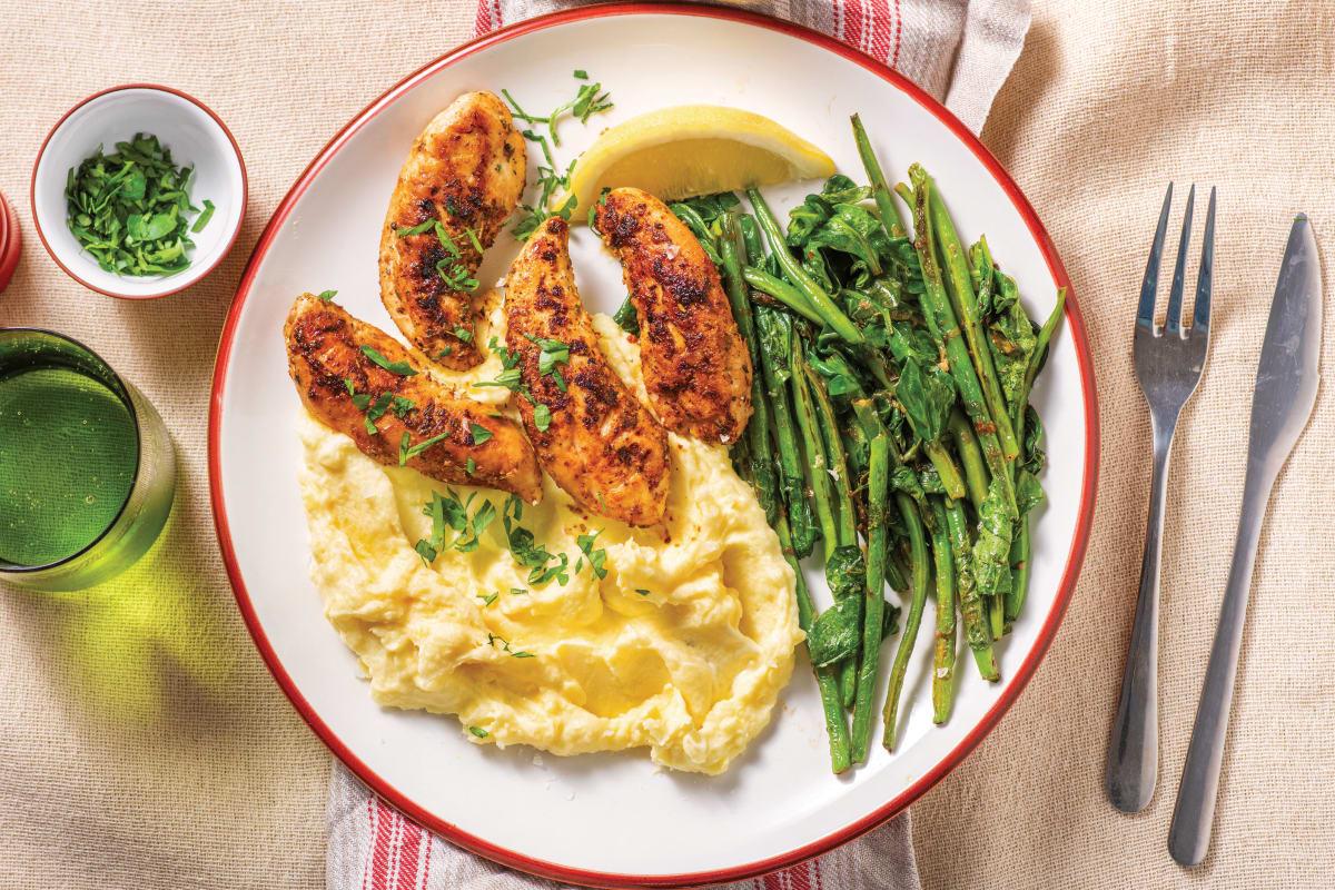 American-Spiced Chicken Tenders