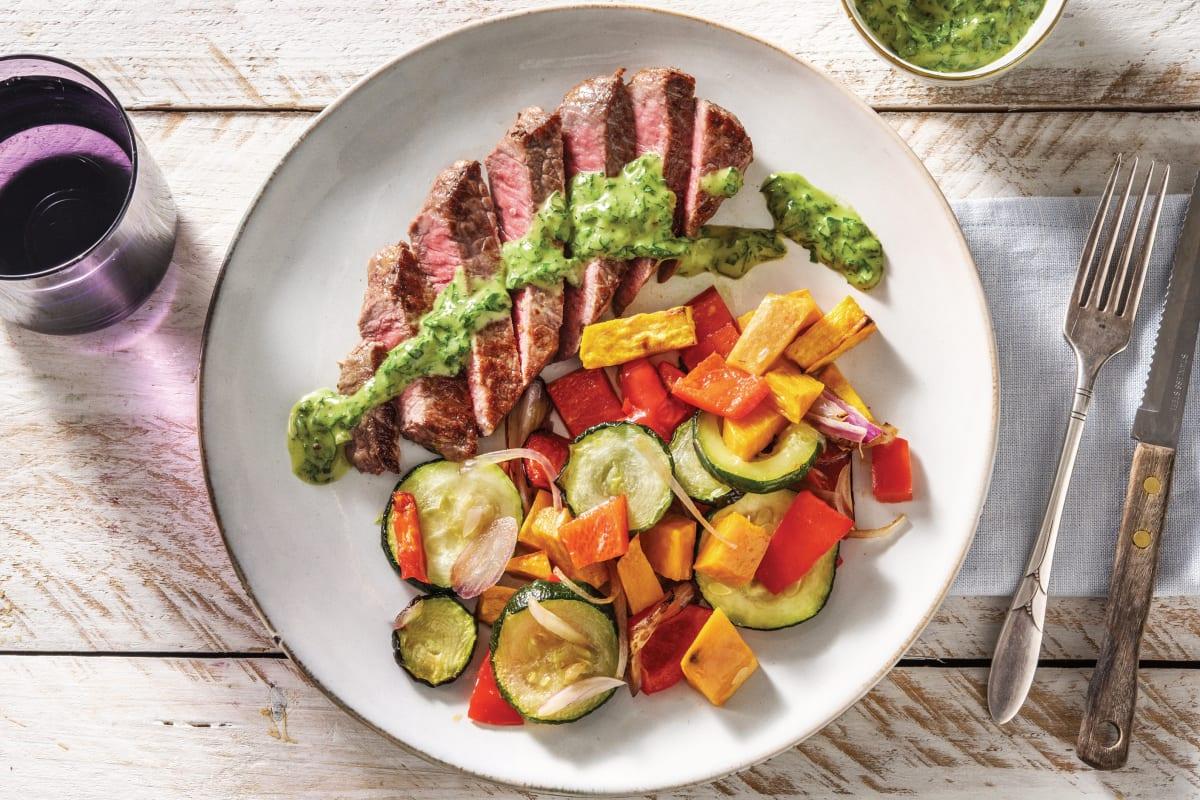 Argentinian Steak & Chimichurri