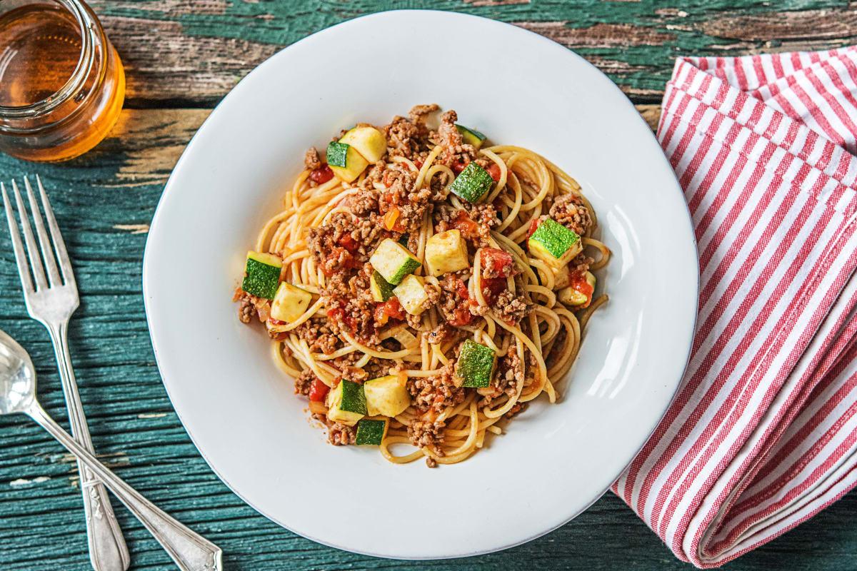 Beef Ragù Spaghetti