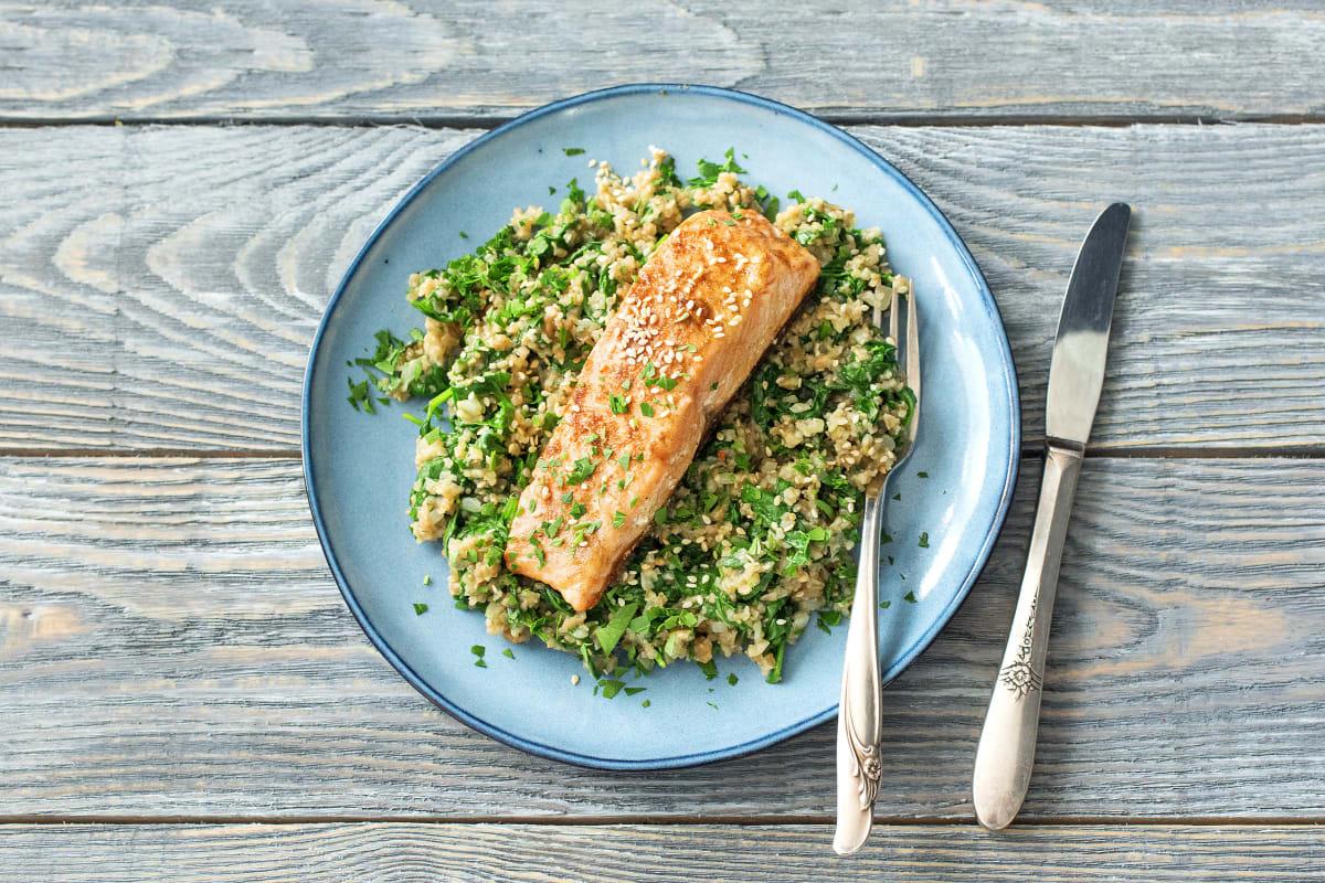 Chermoula Spiced Salmon