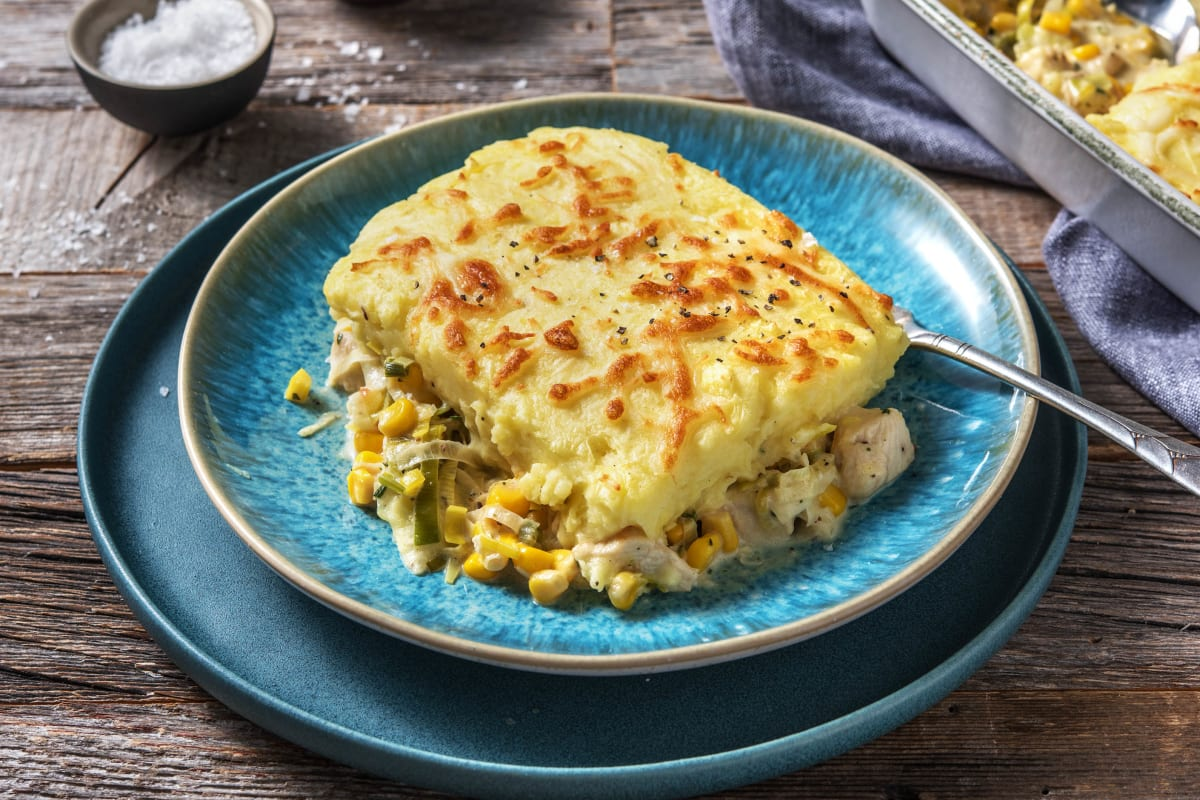 Chicken and Sweetcorn Pie