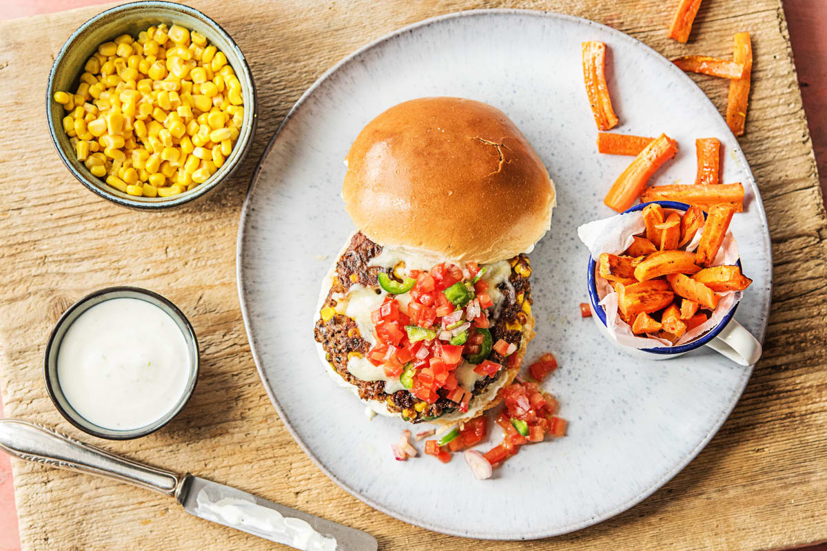 Chunky Funky Veggie Burgers
