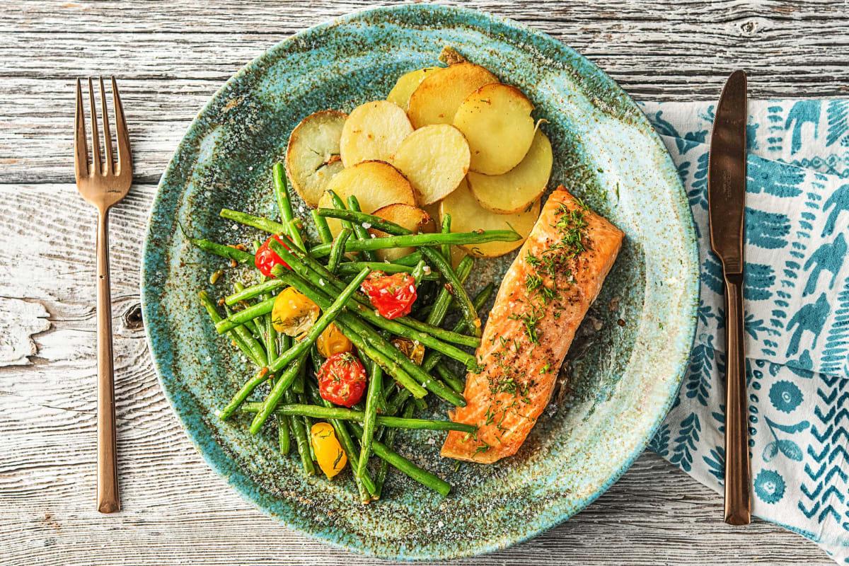 Classic Roasted Salmon