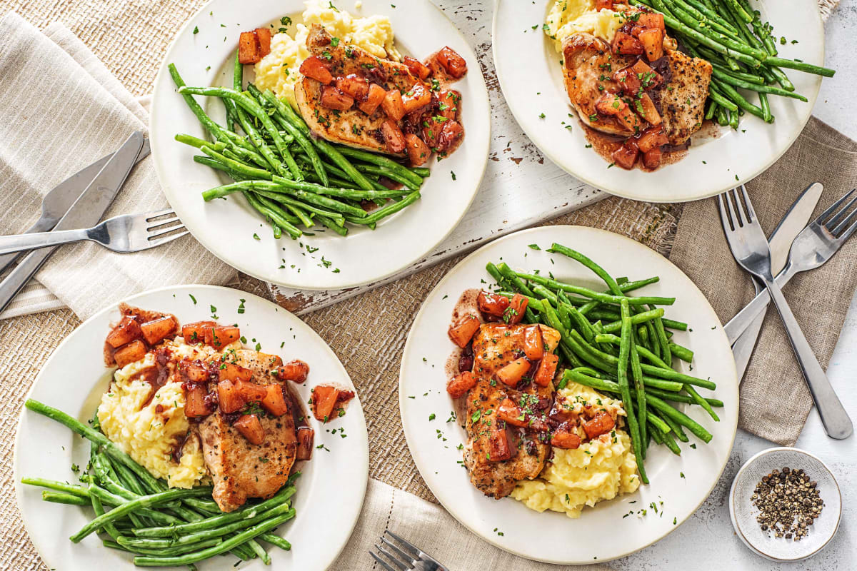 Cranberry Pineapple Pork Chops