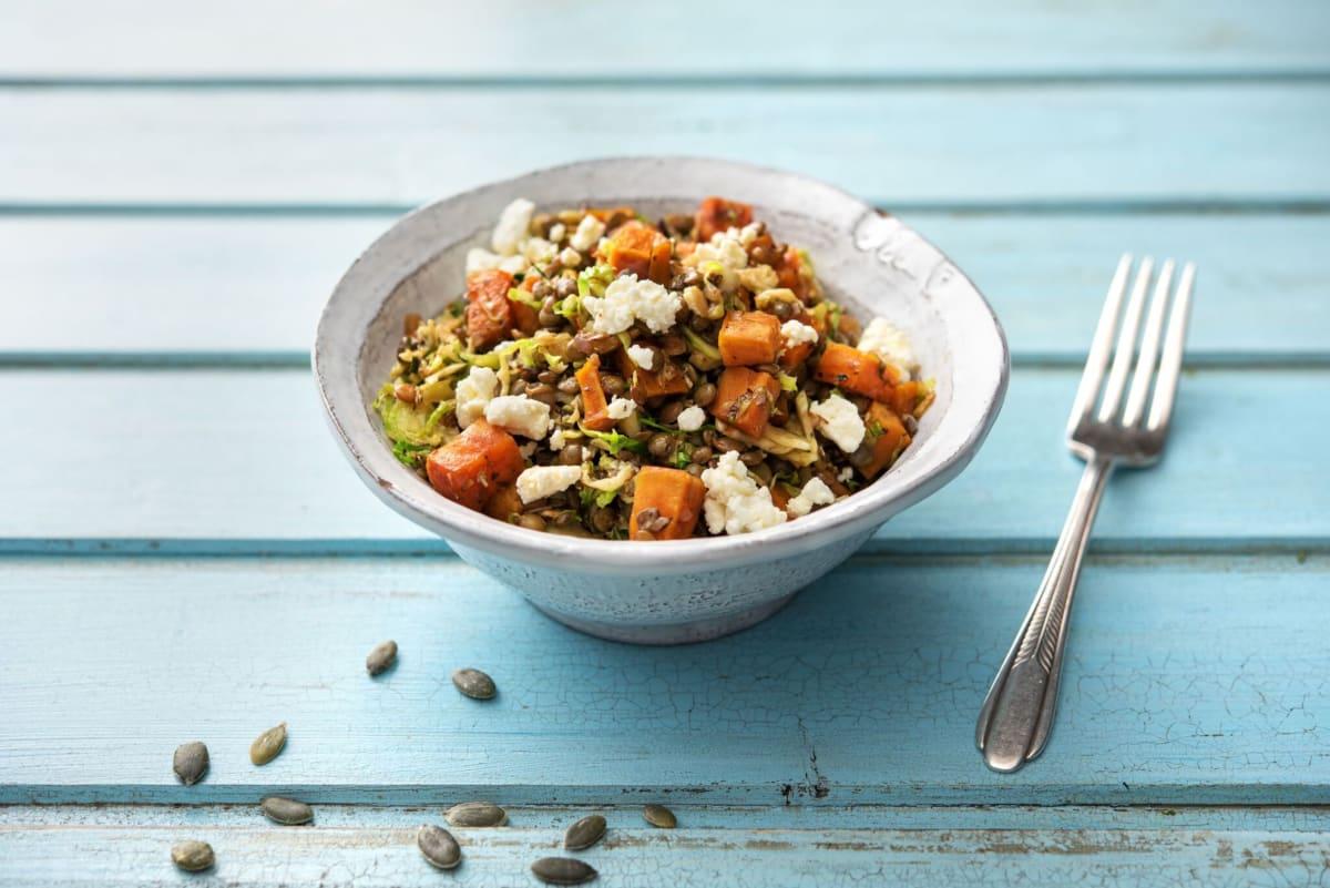 Loaded Lentil Salad