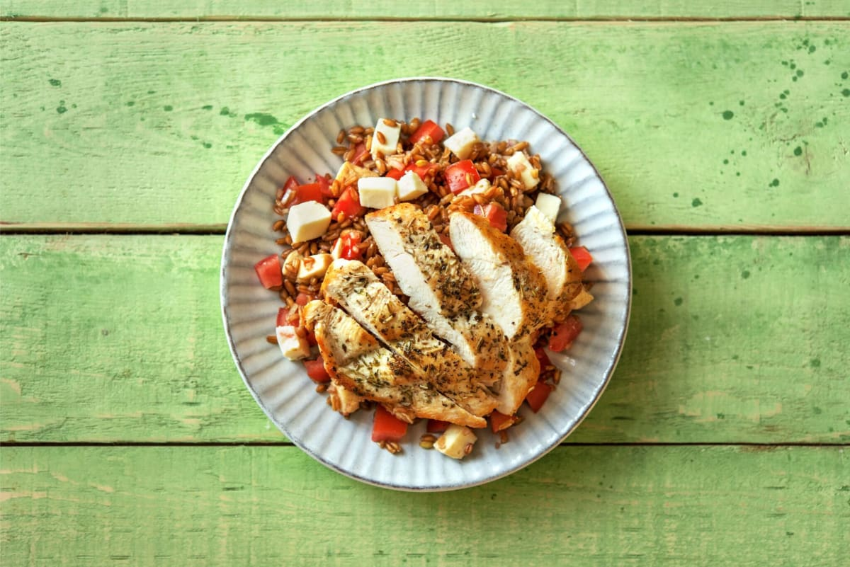 Herby Pan-Seared Chicken
