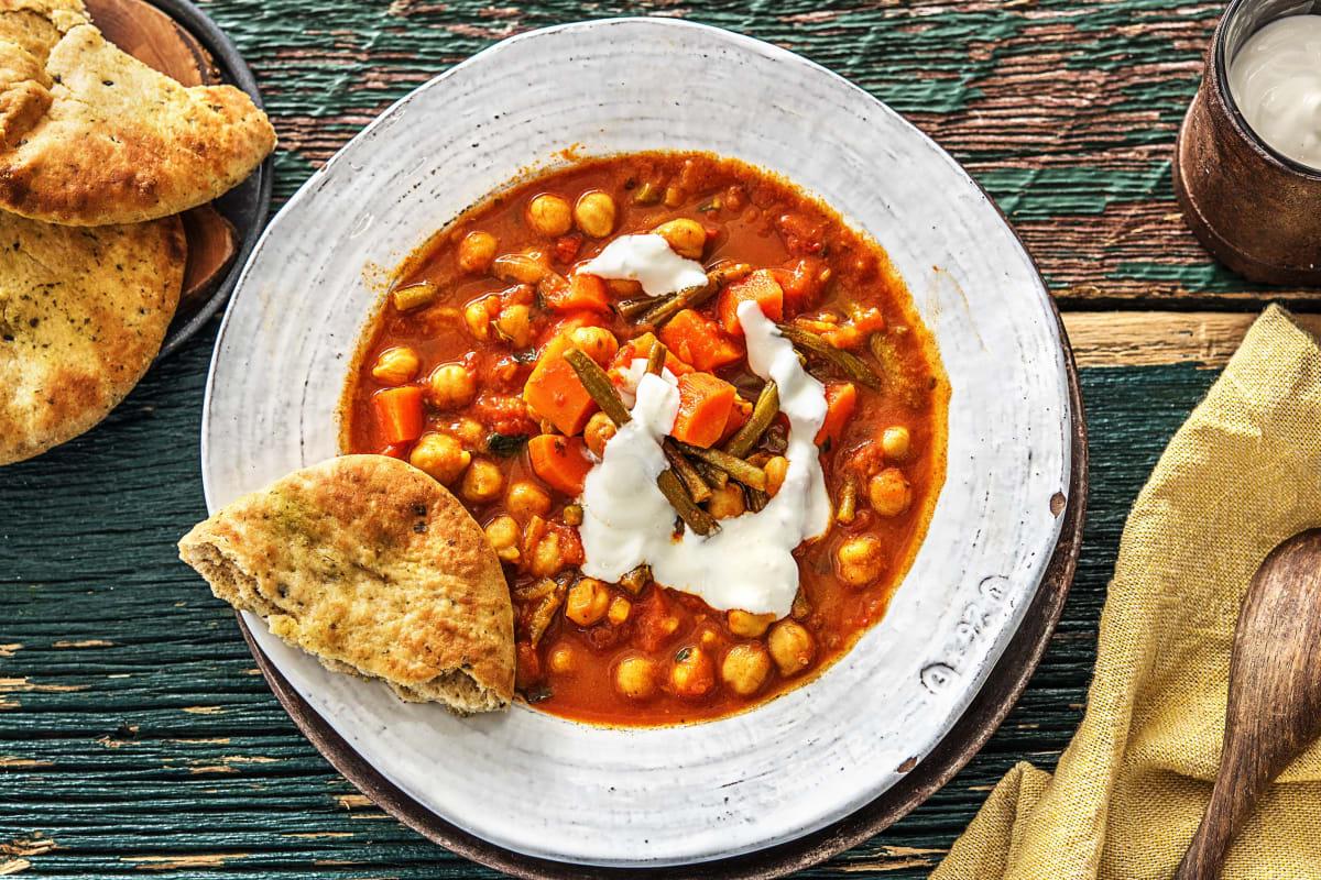 Hello Indien! Kichererbsen-Masala-Curry