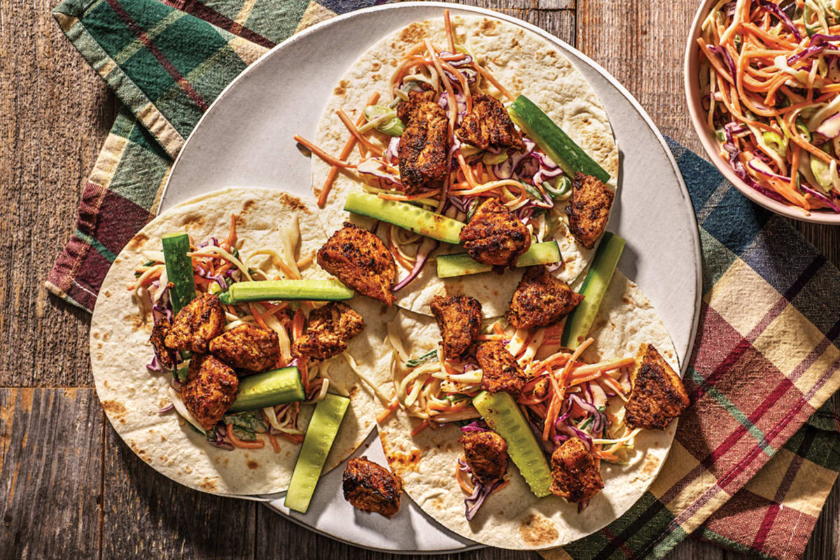 Speedy Fiesta Chicken Tacos