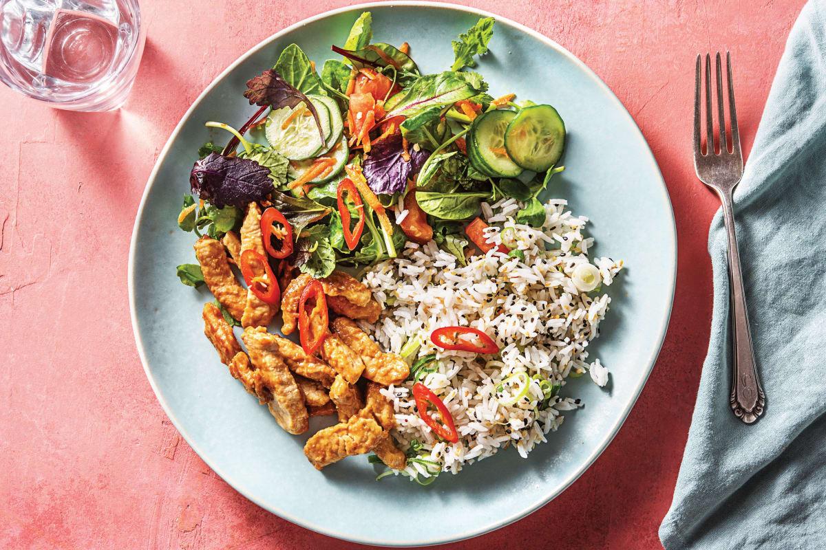Miso Pork & Sesame Rice