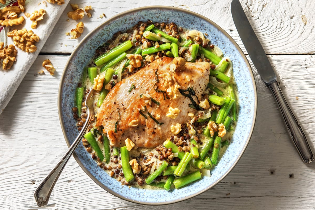 Pan-Fried Turkey Steak