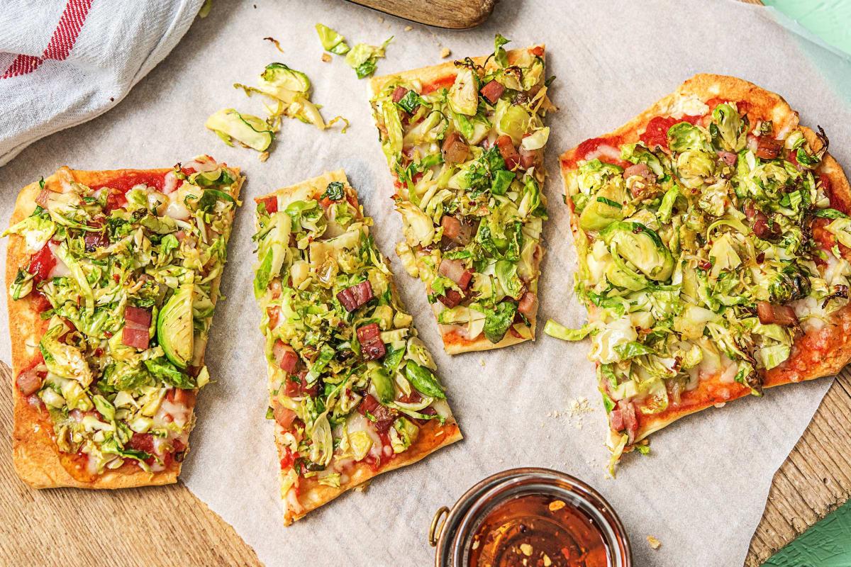 Pancetta Flatbread Pizzas