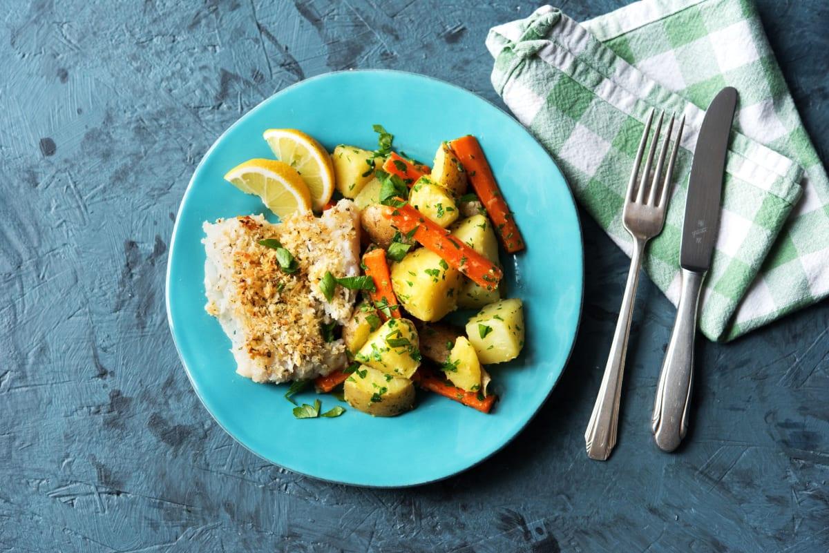 Parmesan-Crusted Cod