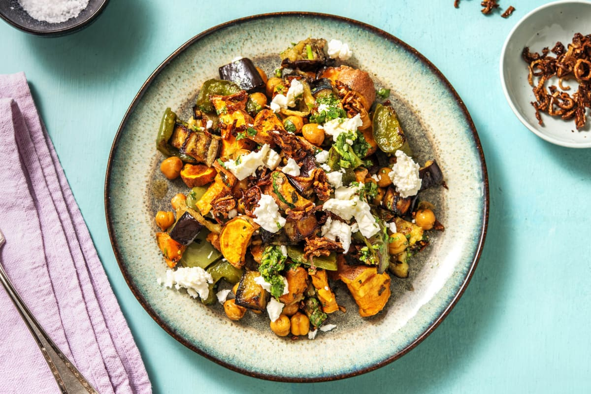 Persian Spiced Vegetable Bowl (v)