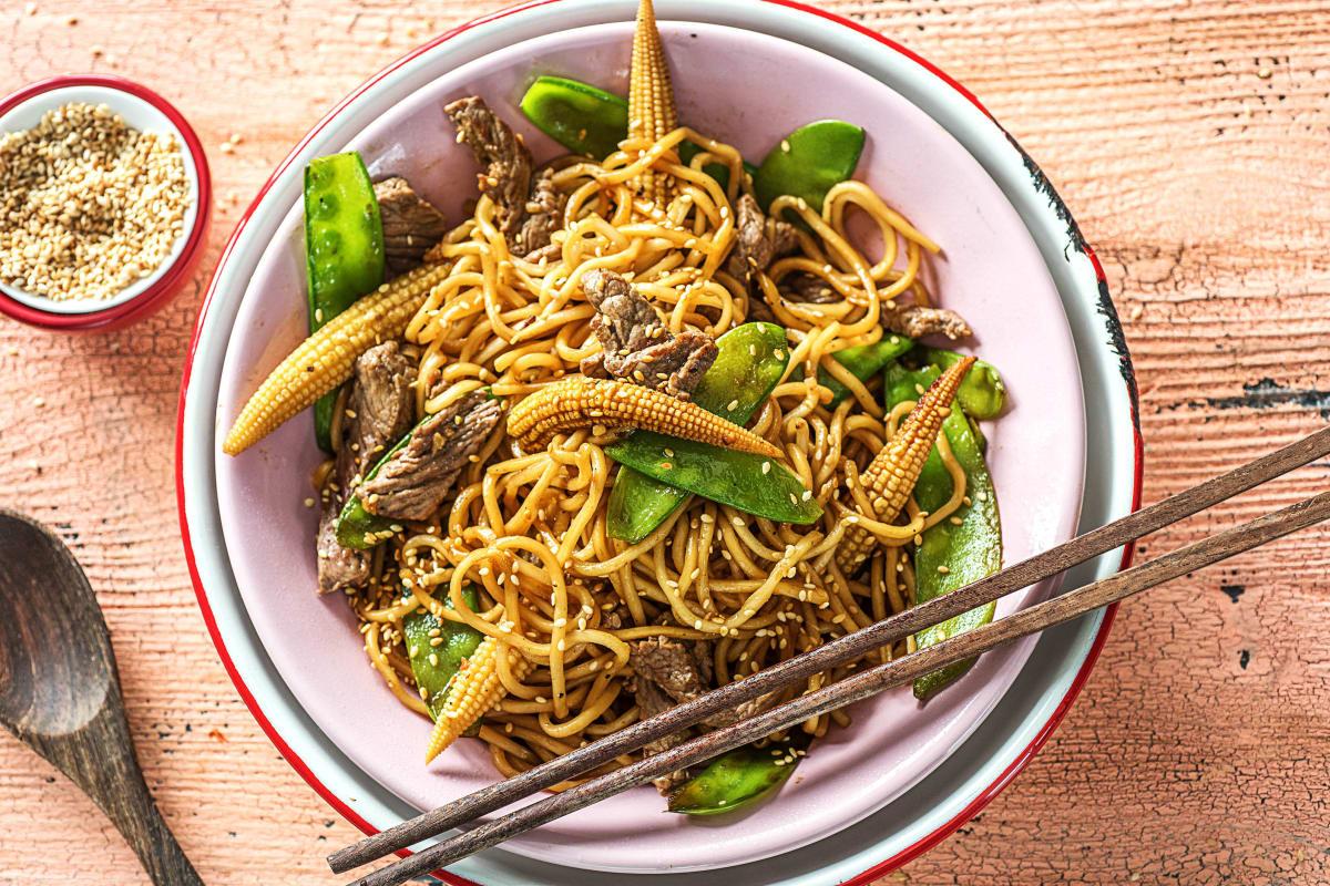Sesame Steak Stir-Fry