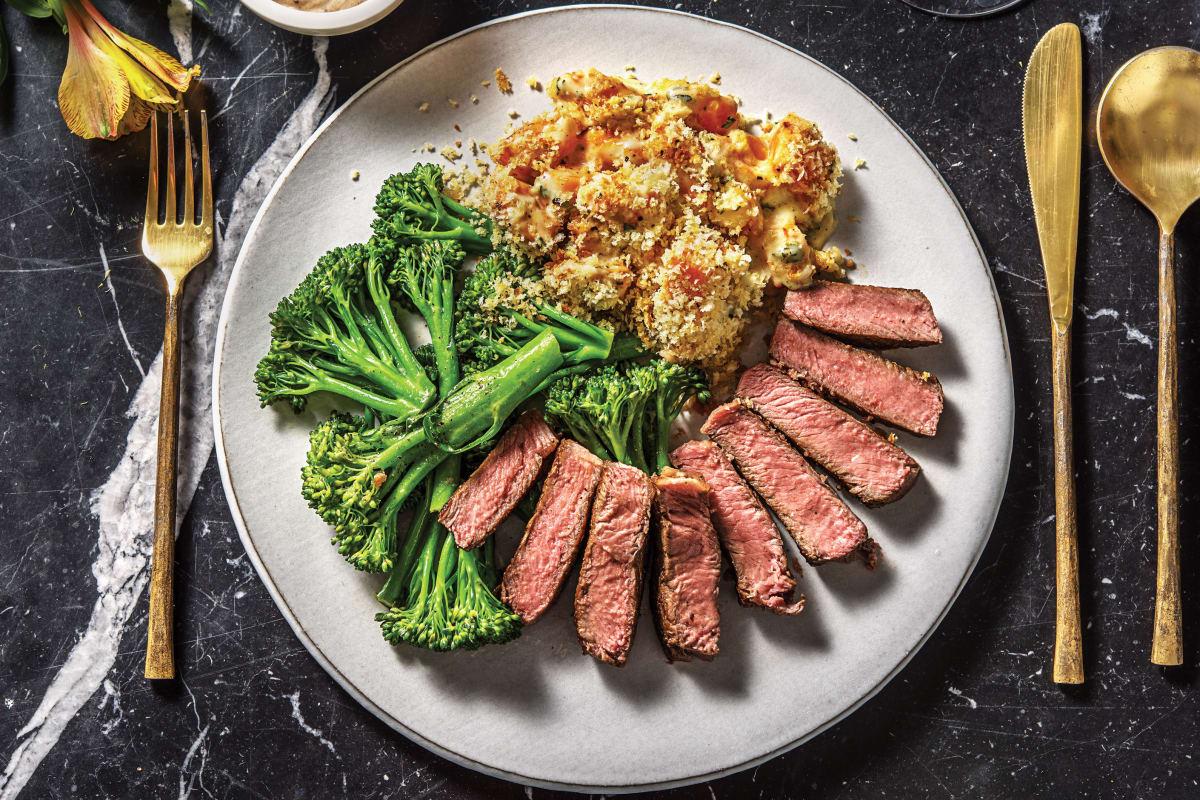 Sirloin Steak & Black Garlic Aioli