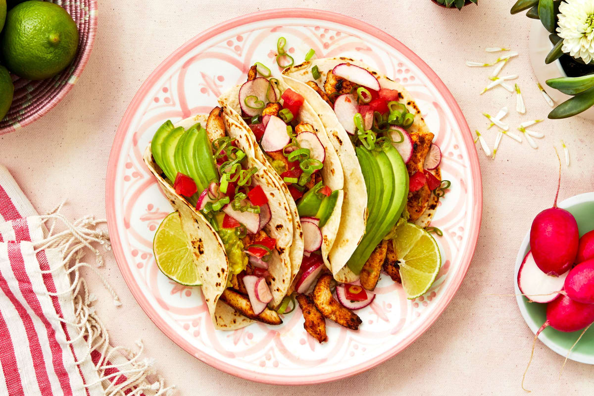 Lauren Conrad's Chicken Tacos