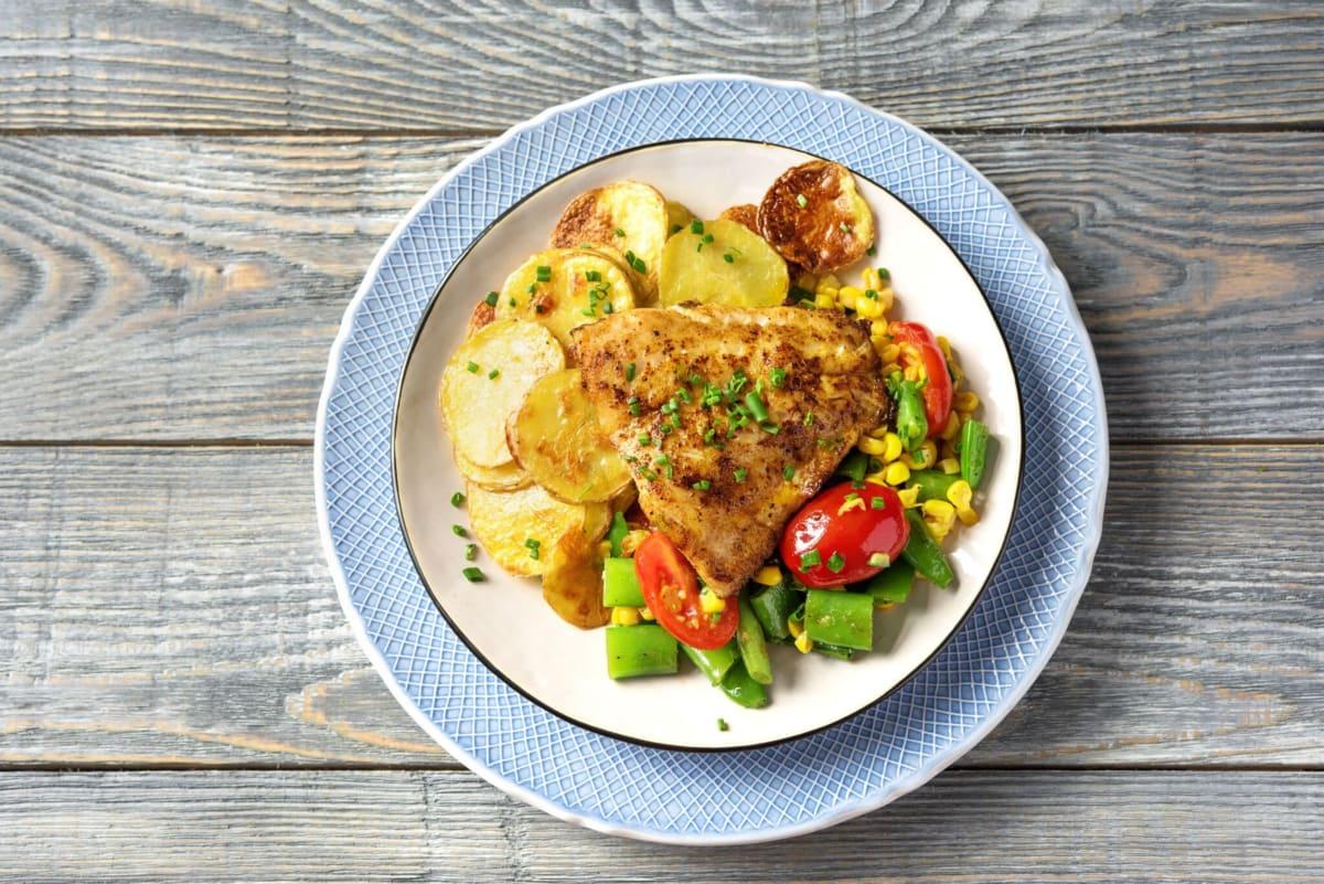 Bayou-Spiced Rockfish