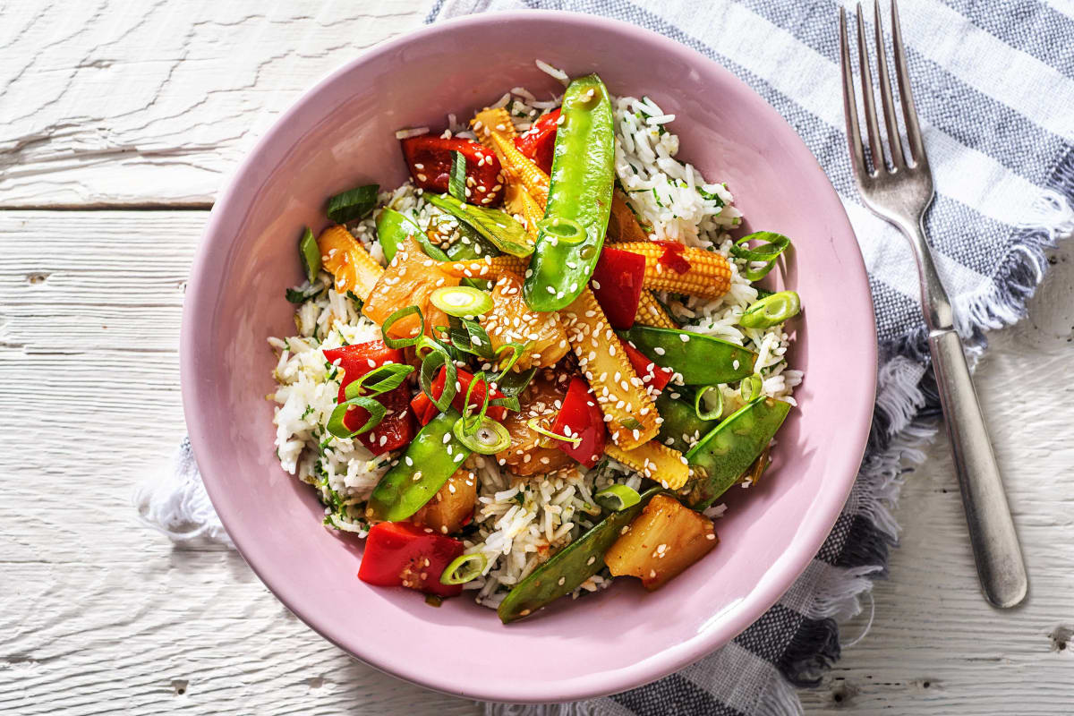 Sweet and Sour Veggies (v)