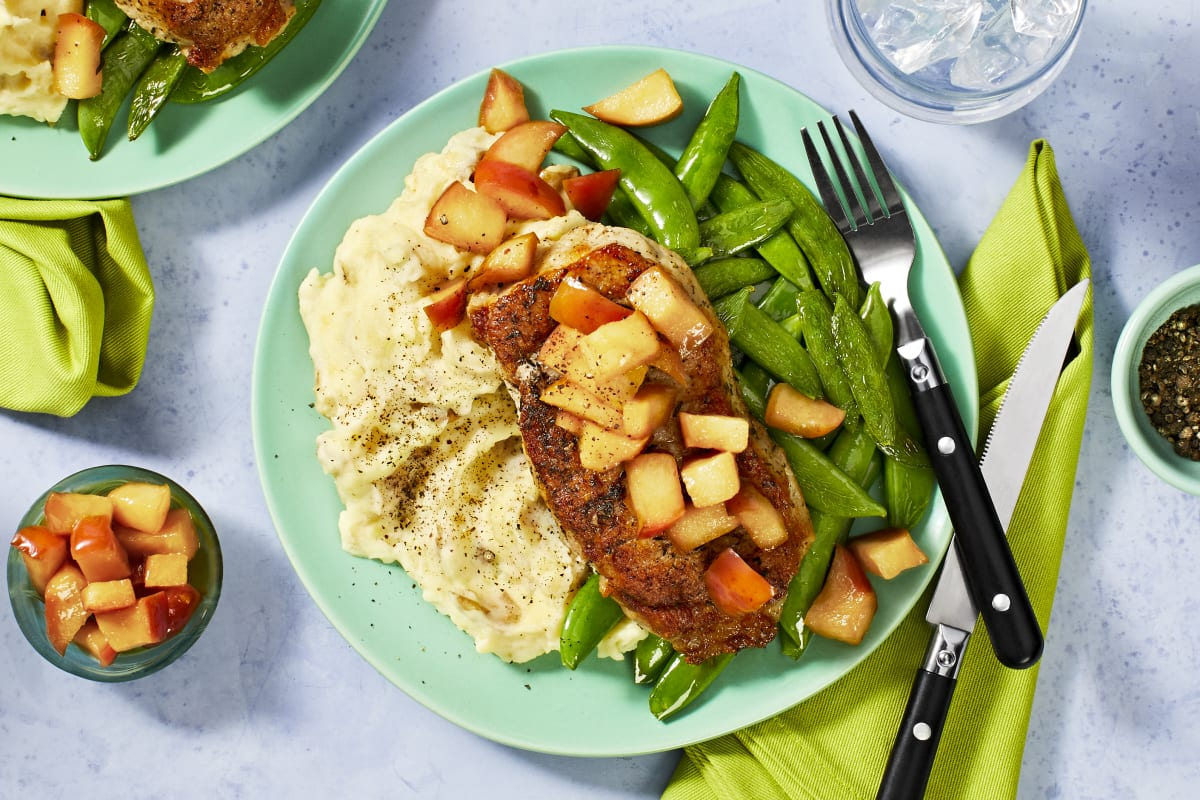 Sweet Apple Pork Chops