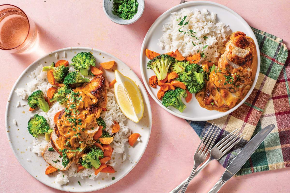 Sweet Paprika Chicken & Rice