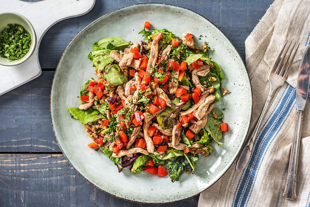 Salade de boulgour façon taboulé