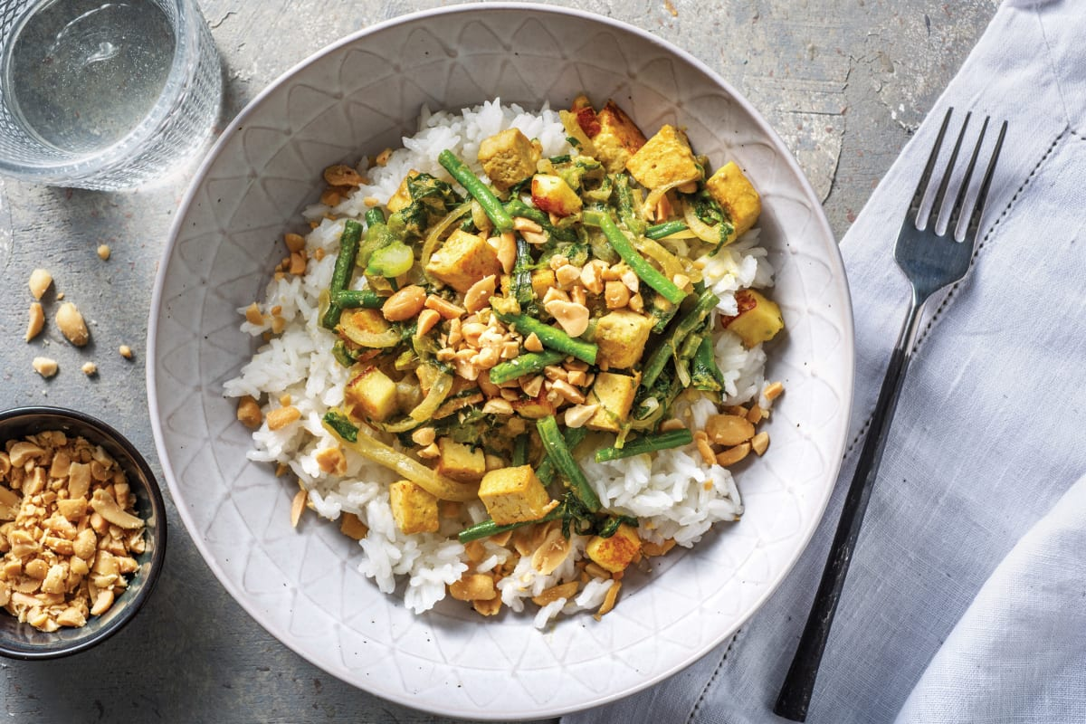 Thai Green Tofu Curry