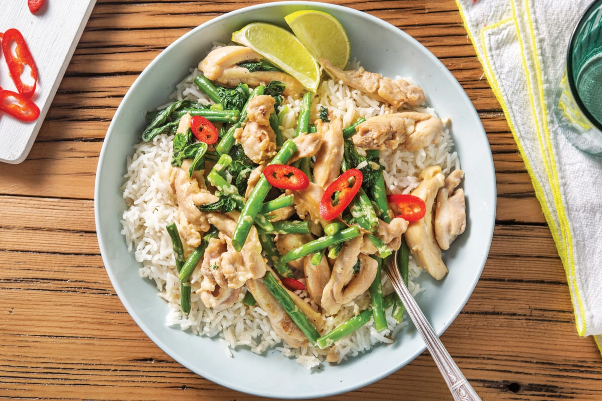 Lemongrass & Coconut Chicken