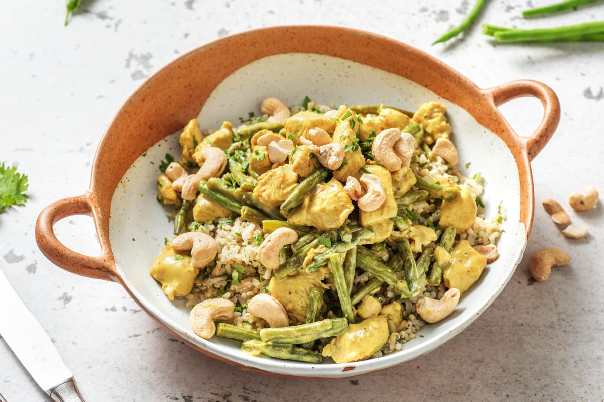 Turkey and Green Bean Curry