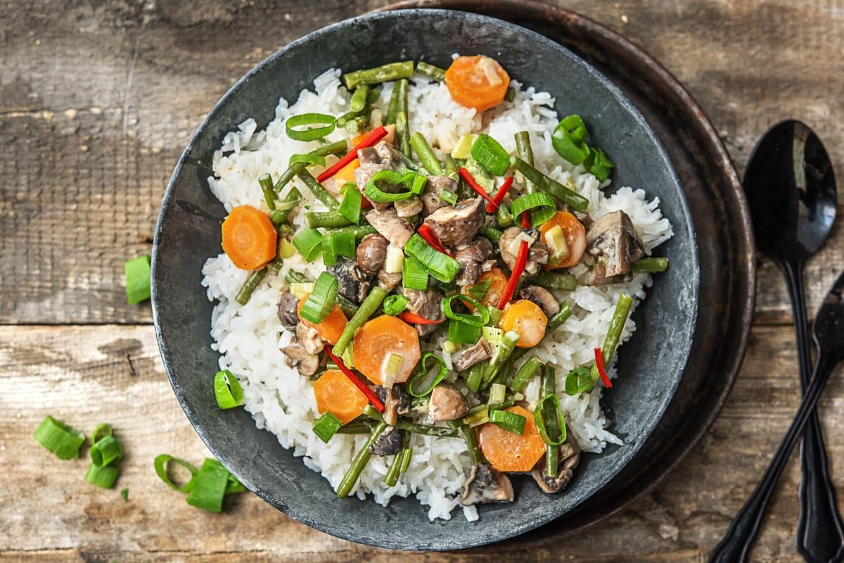Curry Reis Vegetarisch