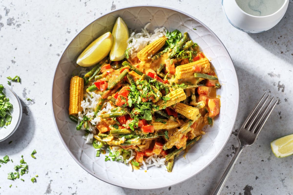 Veggie Packed Yellow Thai Curry