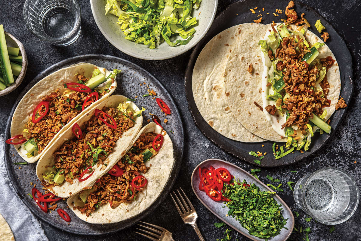 Vietnamese-Style Pork Tacos
