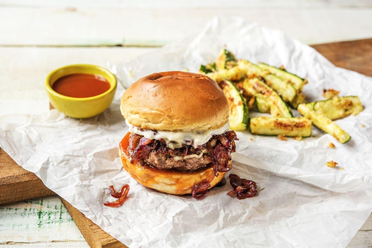 Melty Monterey Jack Burger