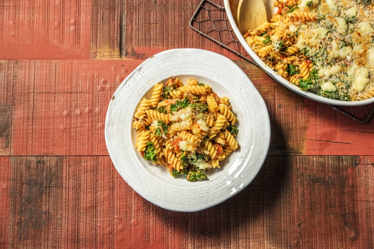 Lasagna-Baked Fusilli