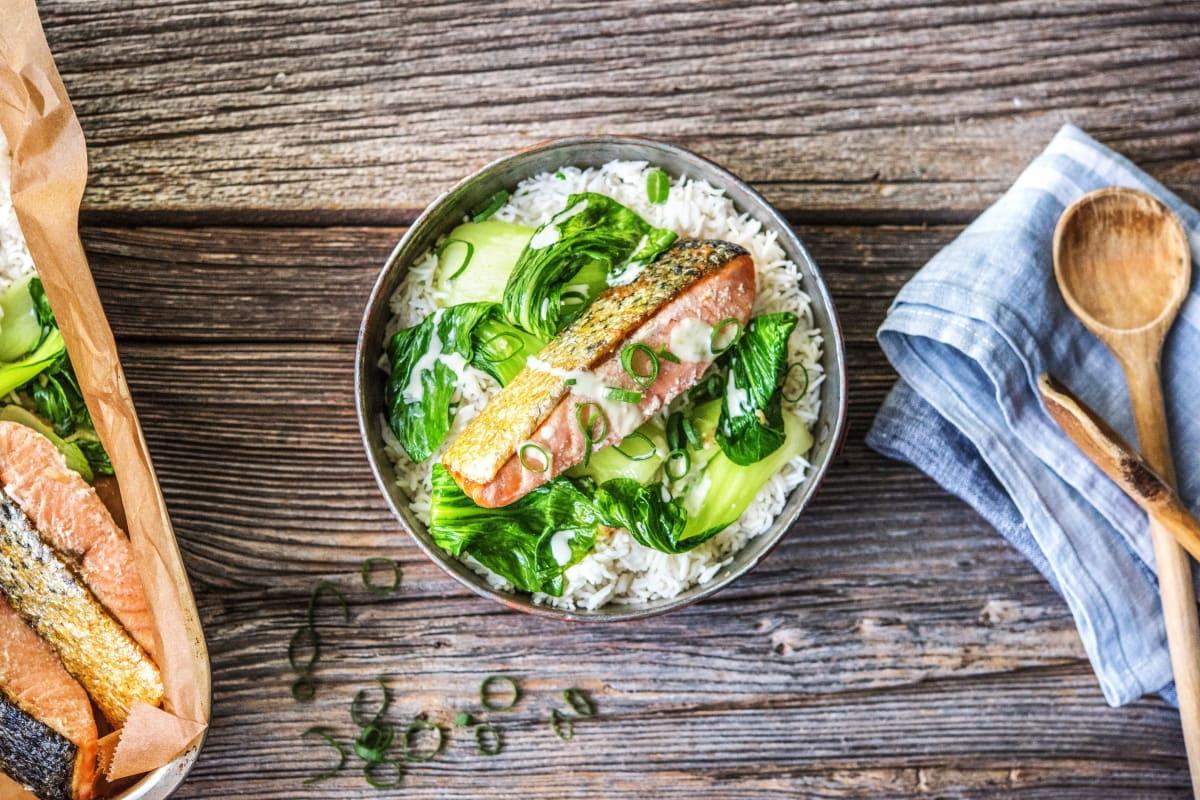 Wasabi Lime Salmon