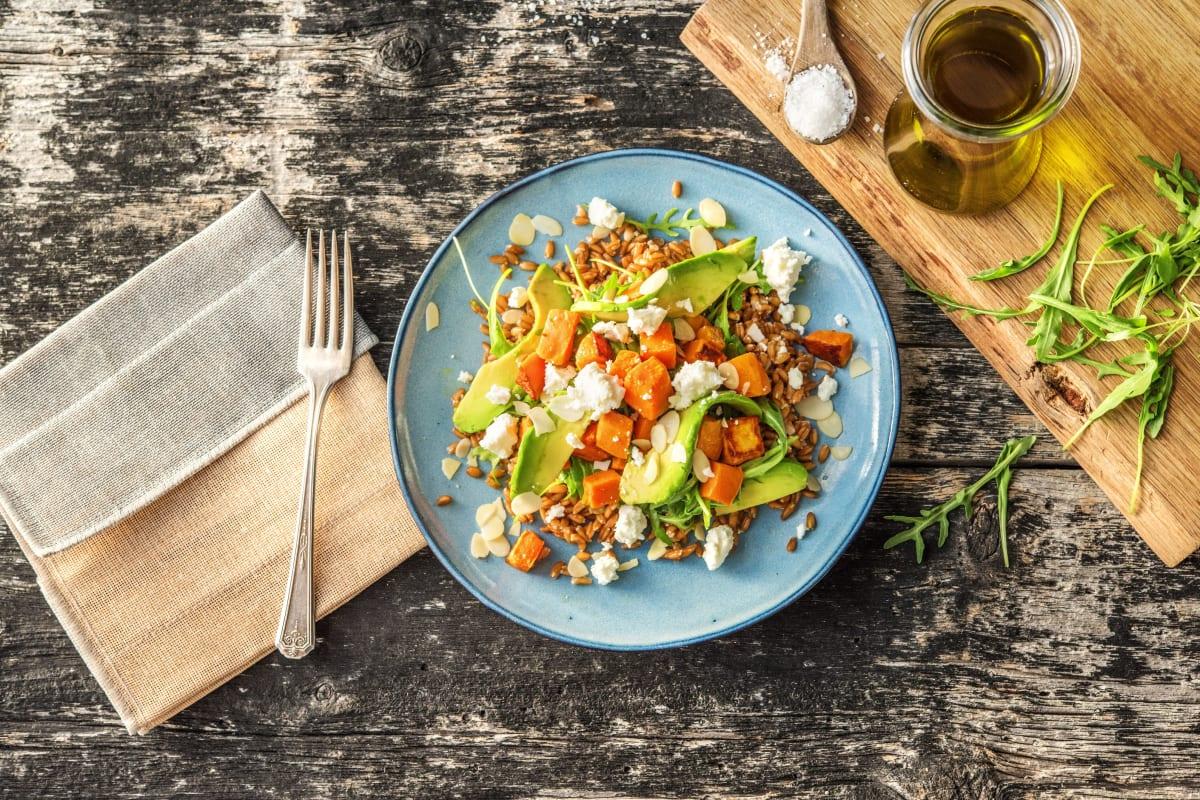 Sweet Potato Sunshine Salad