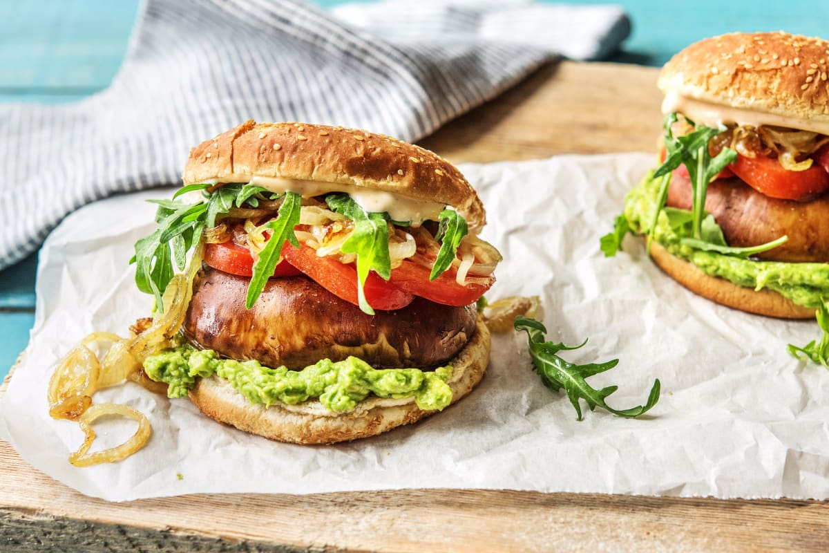 Mega Mushroom Burgers