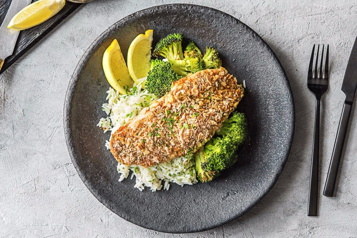 Zesty Crusted Catfish