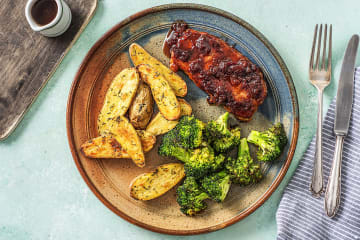 Hellofresh get cooking meal kit delivery order food cherry balsamic pork chops forumfinder Images