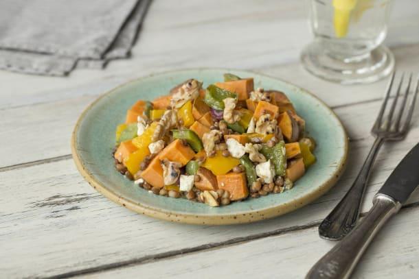 Roasted Vegetable and Feta Medley