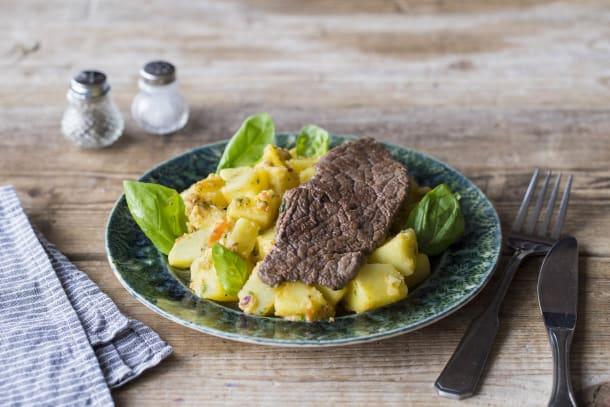 Rosarotes Steak