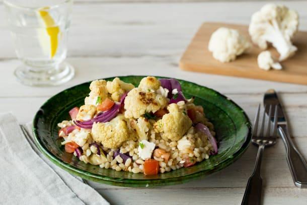 Cumin Spiced Cauliflower Tabbouleh