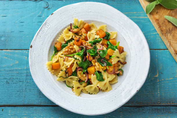 Pumpkin, Sage & Brown Butter Farfalle
