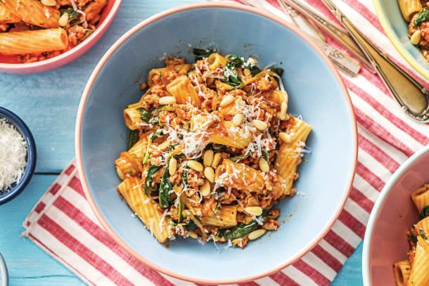 Cheat's Italian Pork & Veggie Loaded Bolognese