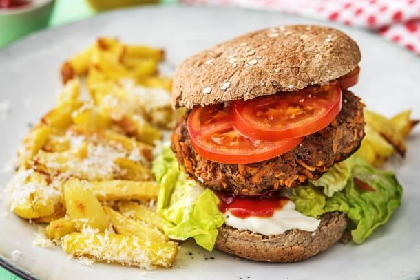 Family - Saftiger Beef-Karotten-Burger