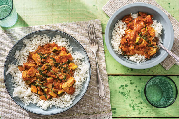 Mild Chicken & Veggie Curry