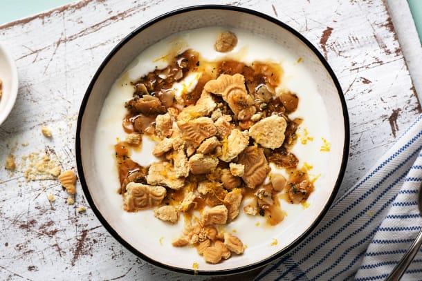 Griekse yoghurt met honing