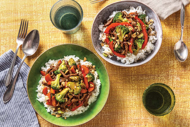 Ginger-Soy Beef Stir-Fry