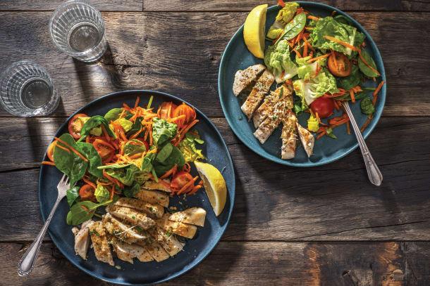 Low Calorie Meals - Chicken Steaks & Garlic Butter
